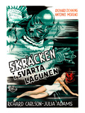 Creature From the Black Lagoon, (AKA Skracken I Svarta Lagunen), Julie Adams, 1954 Poster
