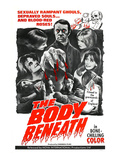 The Body Beneath, Center Top: Gavin Reed, 1970 Posters