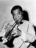 Glenn Miller Story, Louis Armstrong, 1953 Photo