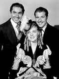 In Old Chicago, Tyrone Power, Alice Faye, Don Ameche, 1937 Photo