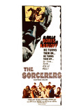 The Sorcerers, Boris Karloff, 1967 Poster