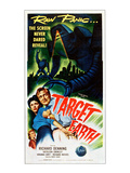 Target Earth, From Left: Kathleen Crowley, Richard Denning, 1954 Posters