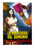 Black Sunday, (AKA 'La Maschera Del Demonio', the Original Italian Title), 1960 Poster
