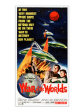 War of the Worlds, Bottom From Left: Gene Barry, Ann Robinson, 1953 Photo