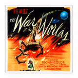 War of the Worlds, 1953 Psters