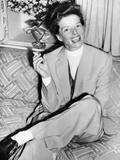 Katharine Hepburn in England in 1952 Prints