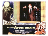 Creature With the Atom Brain, The, Richard Denning, Angela Stevens, 1955 Photo