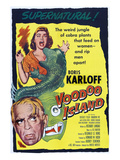 Voodoo Island, Boris Karloff, Beverly Tyler, 1957 Photo
