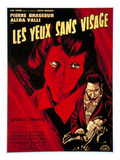 Eyes Without A Face, (AKA Les Yeux Sans Visages), 1960 - Poster