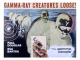 The Gamma People, Paul Douglas, Eva Bartok, 1956 Prints