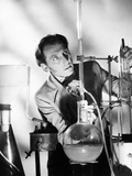 The Curse of Frankenstein, Peter Cushing, 1957 Photo