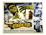 The Alligator People, Richard Crane, Beverly Garland, Lon Chaney, Jr., 1959 Posters