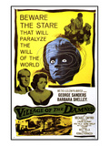Village of the Damned, George Sanders, Barbara Shelley, 1960 Poster