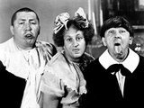 All the World's a Stooge, Curly Howard, Larry Fine, Moe Howard, 1941 Póster