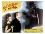 The Catman of Paris, Lenore Aubert, Carl Esmond, Robert Wilke, 1946 Poster