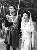 Ivanhoe, Robert Taylor, Elizabeth Taylor, 1952 Photo
