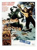 King Kong vs. Godzilla, The Battling Two Titans, 1963 Photographie