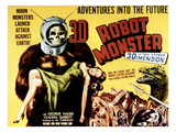 Robot Monster, 1953 Kunstdruck