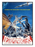 Destroy All Monsters, (AKA 'Kaiju Soshingeki'), 1968 写真