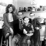 A Christmas Story, Melinda Dillon, Darren McGavin, Ian Petrella, Peter Billingsley, 1983 Photo