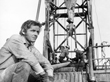 Five Easy Pieces, Jack Nicholson, 1970, Working at the Oil Well Photo