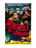 Werewolf of London, Warner Oland, Henry Hull, 1935 Pôsters