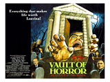 The Vault of Horror, Center Right: Anna Massey, Bottom Left: Terry-Thomas, 1973 Photo
