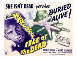 Isle of the Dead, From Left: Boris Karloff, Katherine Emery, 1945 Photo