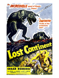 Lost Continent, Lower Right Center: Cesar Romero, 1951 Affiches