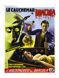 Dracula, (AKA the Horror of Dracula, AKA Le Cauchemar Du Dracula), Peter Cushing (Standing), 1958 Posters