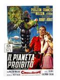 Forbidden Planet, (AKA Il Pianeta Proibito), Robby the Robot, Leslie Nielsen, Anne Francis, 1956 Poster