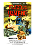 Blood of the Vampire, 1958 Posters