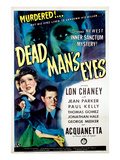 Dead Man&#39;s Eyes, 1944 Prints
