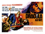 Dracula A.D. 1972, Stephanie Beacham, Stephanie Beacham, Caroline Munro, Christopher Lee, 1972 Prints