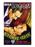 Invisible Ghost, From Left: Bela Lugosi, Polly Ann Young, 1941 Photo