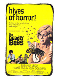The Deadly Bees, From Left: Katy Wild, Guy Doleman, Suzanna Leigh, Catherine Finn, 1967 Print