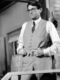 To Kill a Mockingbird, Gregory Peck, 1962. Juliste