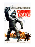 King Kong Escapes, (AKA Kingukongu No Gyakushu), 1967 Posters
