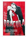 Dracula, From Left: Frances Dade, Bela Lugosi, 1931 Kunstdrucke