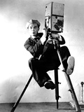 The Cameraman, Buster Keaton, 1928, Newsreel Camera Photo