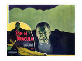 Son of Dracula, Lon Chaney, Jr., Inset: Louise Allbritton), 1943 Photo