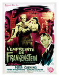 The Evil of Frankenstein (AKA L'Empreinte De Frankenstein), 1964 Posters