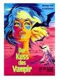 The Kiss of the Vampire, (AKA 'Kiss of the Vampire'), 1963 Plakat