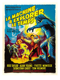 The Time Machine, (AKA La Machine A Explorer Le Temps), From Left: Yvette Mimieux, Rod Taylor, 1960 Posters