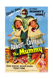 Abbott And Costello Meet the Mummy (aka Abbott & Costello Meet the Mummy), 1955 Plakater