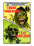 I Drink Your Blood, And I Eat Your Skin, 1964 Plakaty