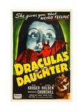 Dracula's Daughter, Top: Gloria Holden, Bottom Right From Left: Otto Kruger, Gloria Holden, 1936 Posters