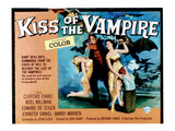 The Kiss of the Vampire, Center: Clifford Evans, 1963 Photo