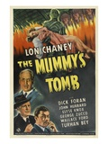 The Mummy's Tomb, Lon Chaney, Jr., 1942 Posters