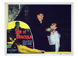 Son of Dracula, Robert Paige, Lon Chaney Jr., 1943 Photo